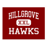 Hillgrove - Hawks - High - Powder Springs Georgia Postcard