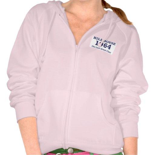 Hillhouse '64 women's zipper hoodie