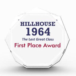 Hillhouse de 'placa 64 premios. Apenas añada su