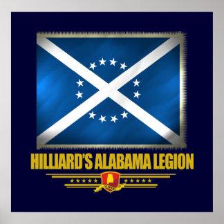 Hilliard's Alabama Legion Poster