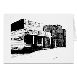 Hillis Gro. McMinnville Tennessee Greeting Card