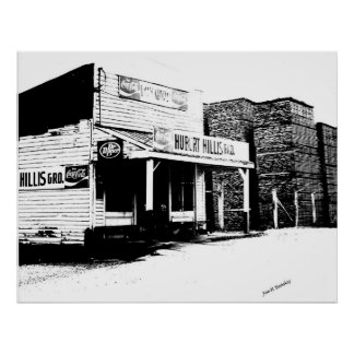 Hillis Gro. McMinnville Tennessee Poster