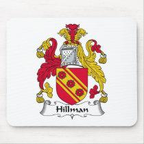 Hillman Family Crest Mousepad