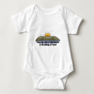 hills1 baby bodysuit