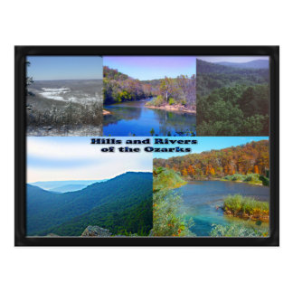 Hills and Rivers of the Ozarks Postcard