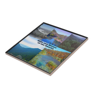 Hills and Rivers of the Ozarks Tile