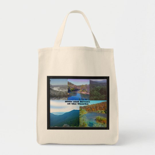 Hills and Rivers of the Ozarks Tote Bag