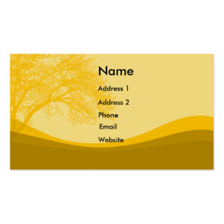 Hills And Trees Business Card