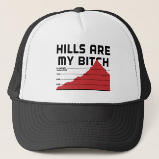 Hills Are My Trucker Hat