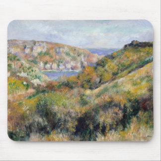 Hills around the Bay of Moulin Huet - Renoir Mouse Pad