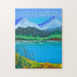 Hills by the Lake Puzzle