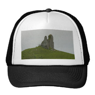 Hills Castles Ruins Trucker Hats