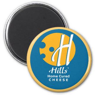 hills' cheese magnet (round)