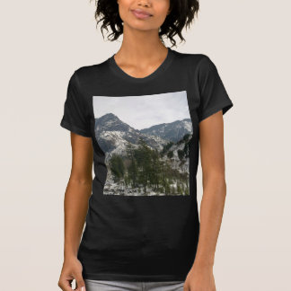 Hills covered with snow t shirt
