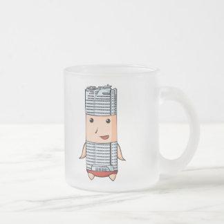 Hills English story Roppongi Hills Tokyo Frosted Glass Coffee Mug