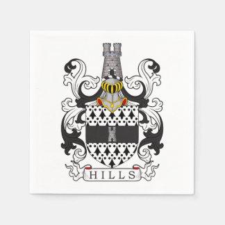 Hills Family Crest Disposable Napkins