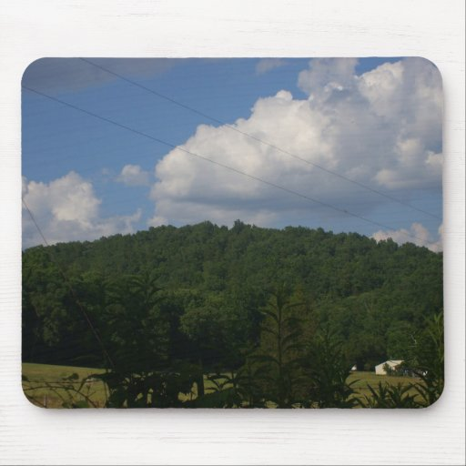 Hills in Missouri Mouse Pad