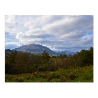 Hills Near Santa Domenica Talao Postcard