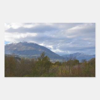 Hills Near Santa Domenica Talao Rectangular Sticker