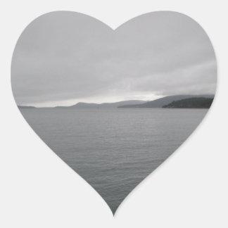 Hills Of The San Juans Heart Sticker