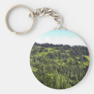 Hills of Trees Key Chain