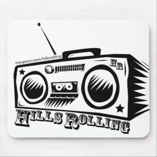 Hills Rolling Mouse Pad