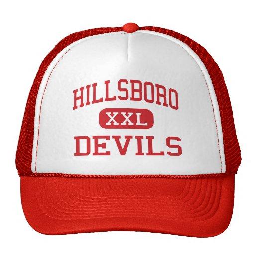 Hillsboro - Devils - Elementary - Hillsboro Mesh Hats