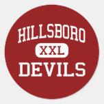Hillsboro - Devils - Elementary - Hillsboro Round Sticker
