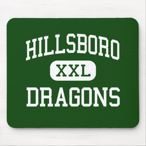 Hillsboro - Dragons - Junior - Hillsboro Illinois Mouse Pad