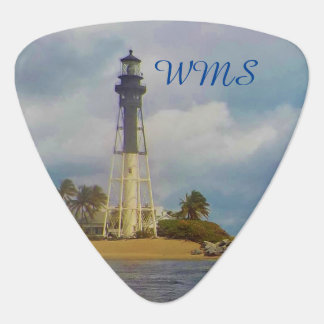 Hillsboro Inlet Light Monogrammed Guitar Pick