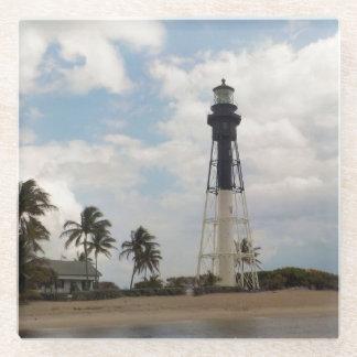 Hillsboro Inlet Light Tower Glass Coaster