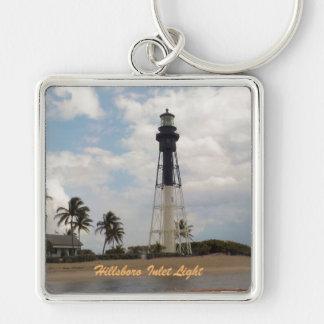 Hillsboro Inlet Light Tower Keychain