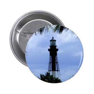 Hillsboro Inlet Lighthouse 2 Inch Round Button