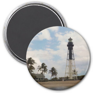 Hillsboro Inlet Lighthouse 3 Inch Round Magnet
