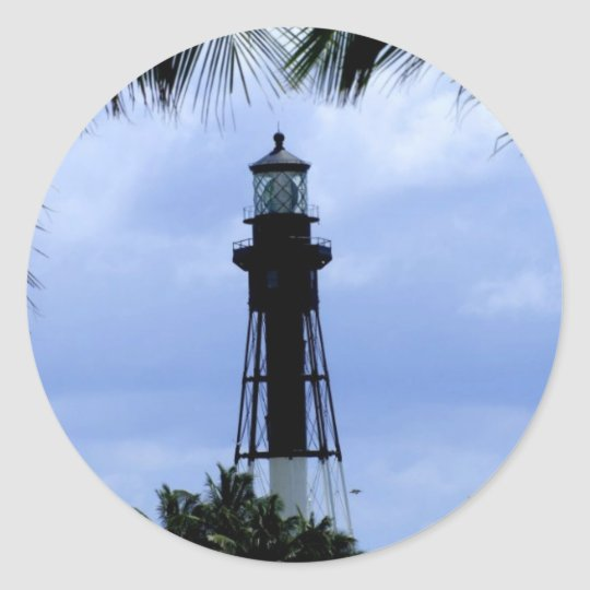 Hillsboro Inlet Lighthouse Classic Round Sticker