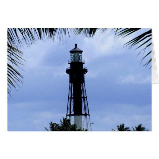 Hillsboro Inlet Lighthouse Greeting Cards