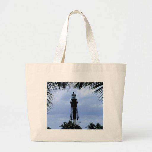 Hillsboro Inlet Lighthouse Jumbo Tote Bag