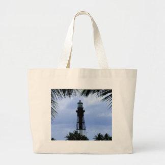 Hillsboro Inlet Lighthouse Large Tote Bag