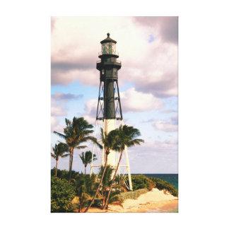 Hillsboro Inlet Lighthouse, Pompano Beach Florida Canvas Print