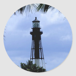Hillsboro Inlet Lighthouse Round Stickers