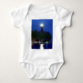 Hillsboro Lighthouse Baby Bodysuit