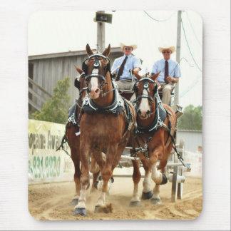 hillsboro ohio draft horse show in 2010 mouse pad