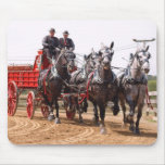 hillsboro ohio draft horse show mousepad