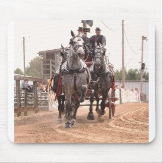 hillsboro ohio draft horse show mouse pad