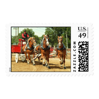hillsboro ohio draft horse show postage stamps
