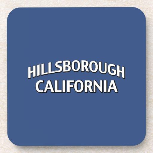 Hillsborough California Drink Coaster