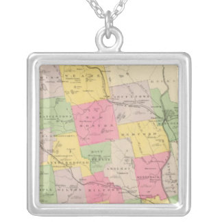 Hillsborough County Silver Plated Necklace