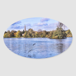 Hillsborough Forest Park Oval Sticker