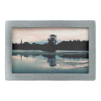 Hillsborough Lake Reflection Belt Buckle