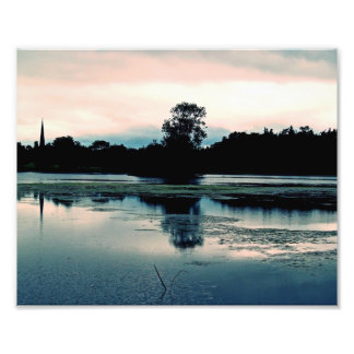 Hillsborough Lake Reflection - Photo Enlargement